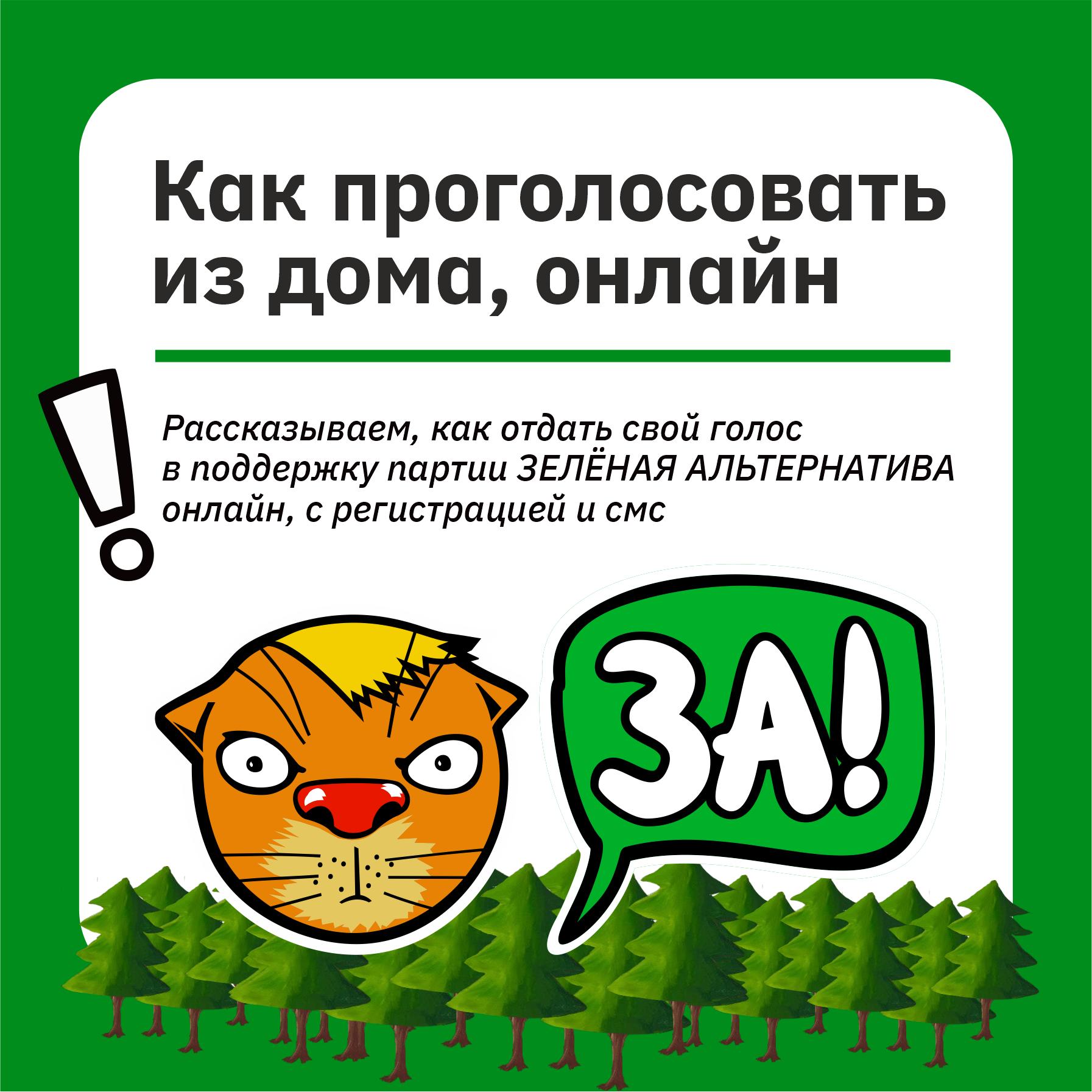 «Зелёная Альтернатива» собирает подписи на выборы в Заксобрание Челябинской области 1
