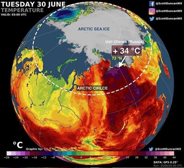 Грета Тунберг обеспокоена климатическими изменениями в России 1