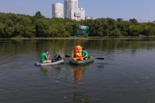 Заплыв «Зелёной Альтернативы» по реке Миасс во спасение челябинских водных ресурсов 7