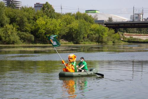 Заплыв «Зелёной Альтернативы» по реке Миасс во спасение челябинских водных ресурсов 8