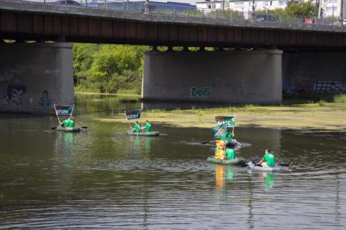 Заплыв «Зелёной Альтернативы» по реке Миасс во спасение челябинских водных ресурсов 9