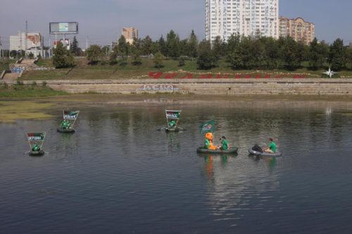 Заплыв «Зелёной Альтернативы» по реке Миасс во спасение челябинских водных ресурсов 10
