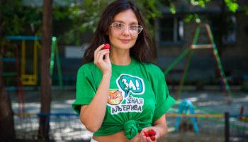 Софья Гудим дала старт флешмобу #витаминысгрядки 68