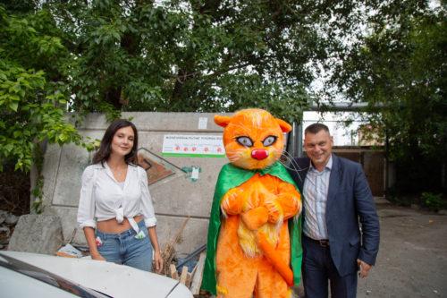 «Зелёная Альтернатива» внедрила систему звёзд для мусорных площадок Челябинска наподобие отельной 9