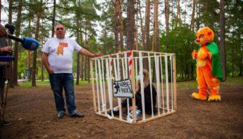 Карен Даллакян возглавил протест «Зелёной Альтернативы» против контактных зоопарков 57