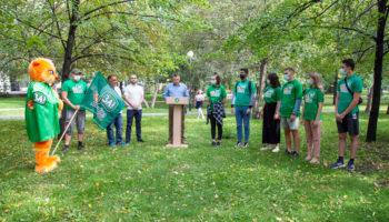 Посвящение в волонтёры «Зелёной Альтернативы» 46