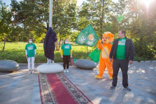 Открытие памятника Грете Тунберг в Челябинске 7