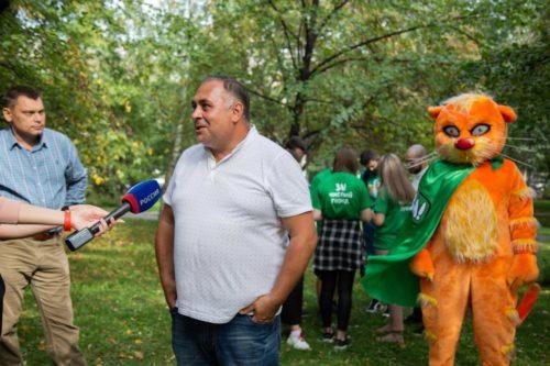 Посвящение в волонтёры «Зелёной Альтернативы» 15