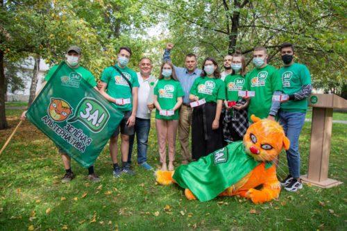 Посвящение в волонтёры «Зелёной Альтернативы» 18