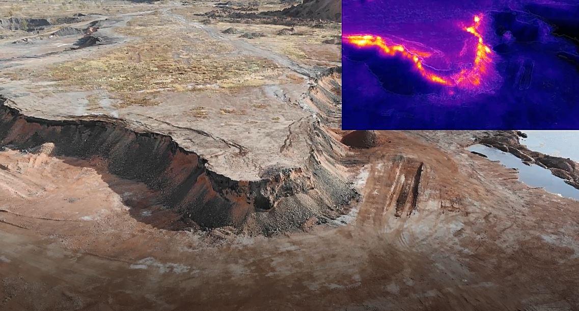 Новые пожары на угольных шахтах под Челябинском 1