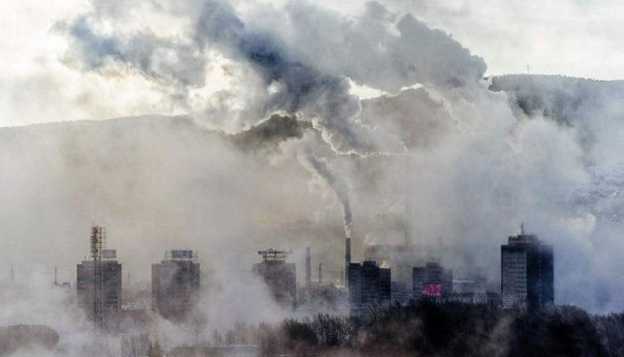В России зарегистрирован новый рекорд по загрязнению воздуха 109