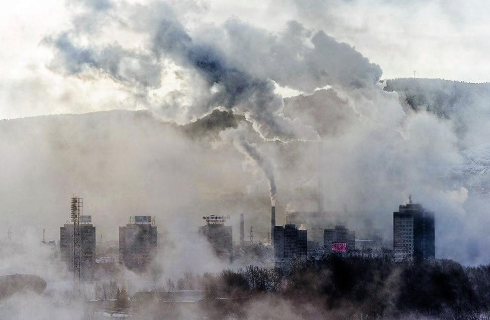 В России зарегистрирован новый рекорд по загрязнению воздуха 1